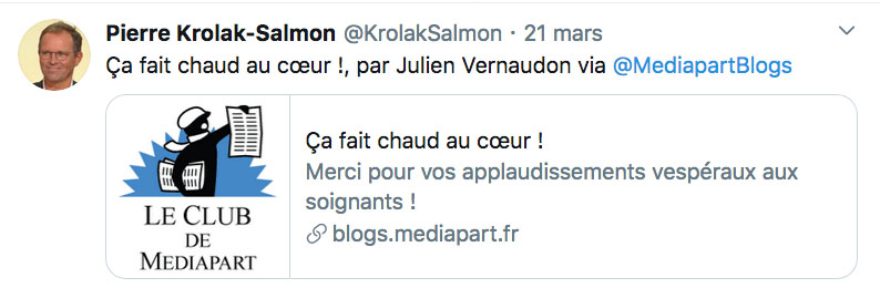 Tweet Pierre Krolak-Salmon